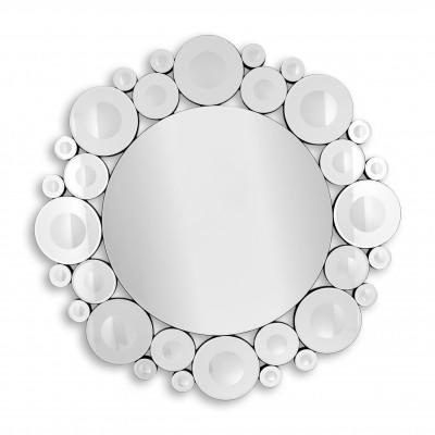 HM005A8080 - Specchio moderno cerchi e anelli