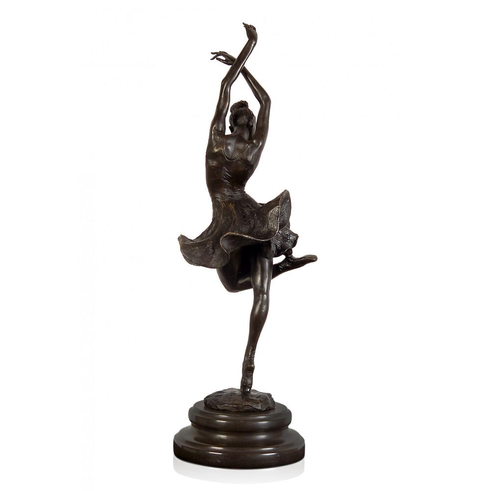 EPA237 - Statua in bronzo Ballerina di flamenco