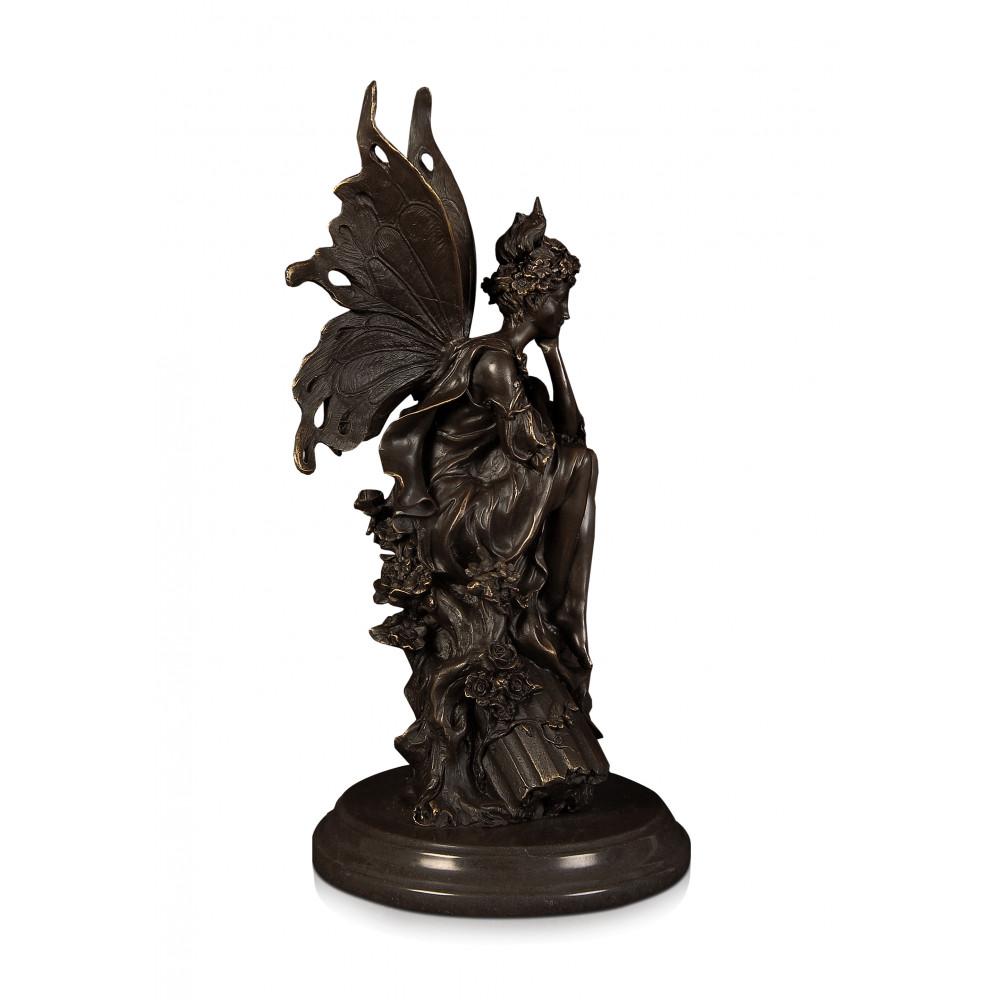 EPA240 - Statua in bronzo Fatina del bosco