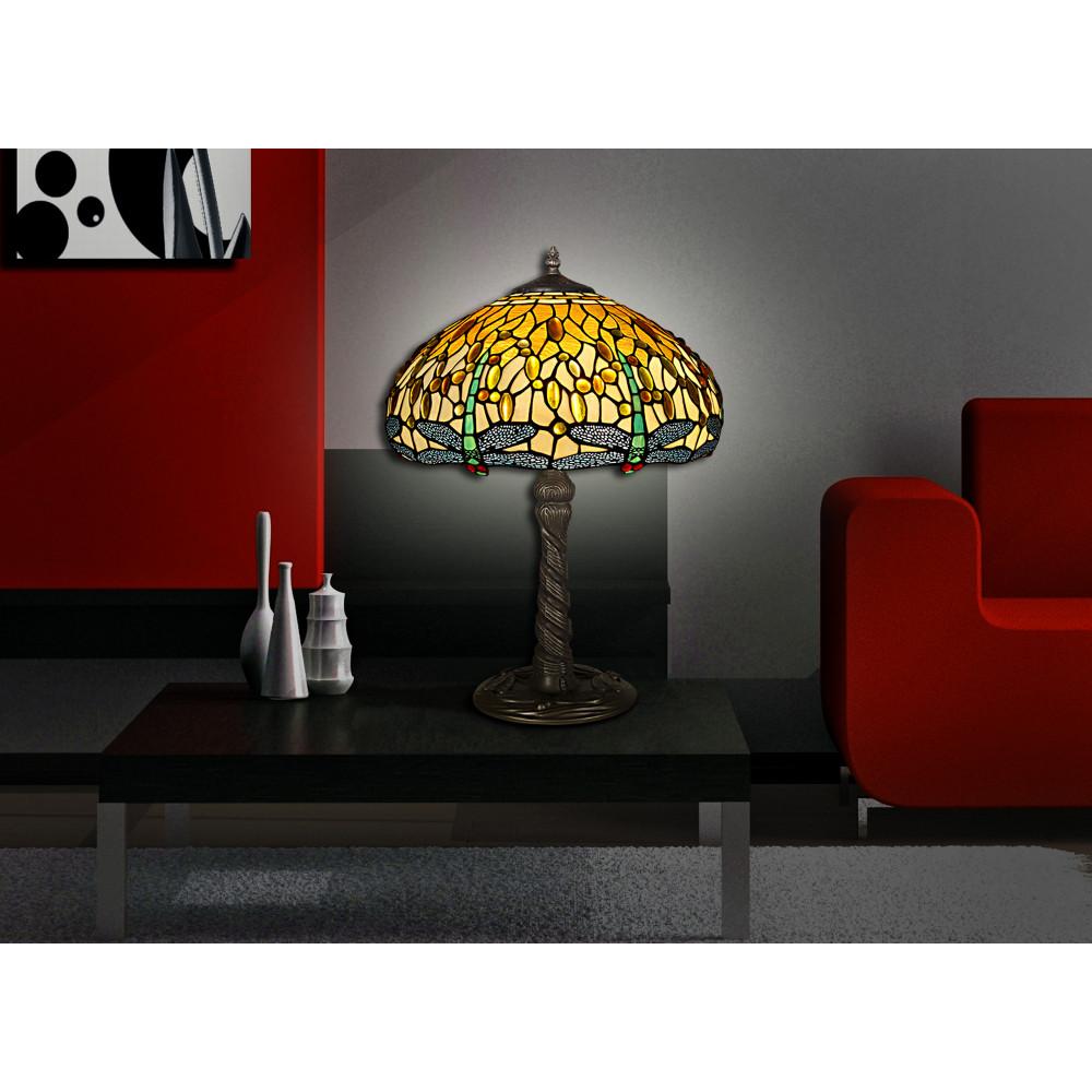 GD16511 - Lampada da tavolo dragonfly giallo