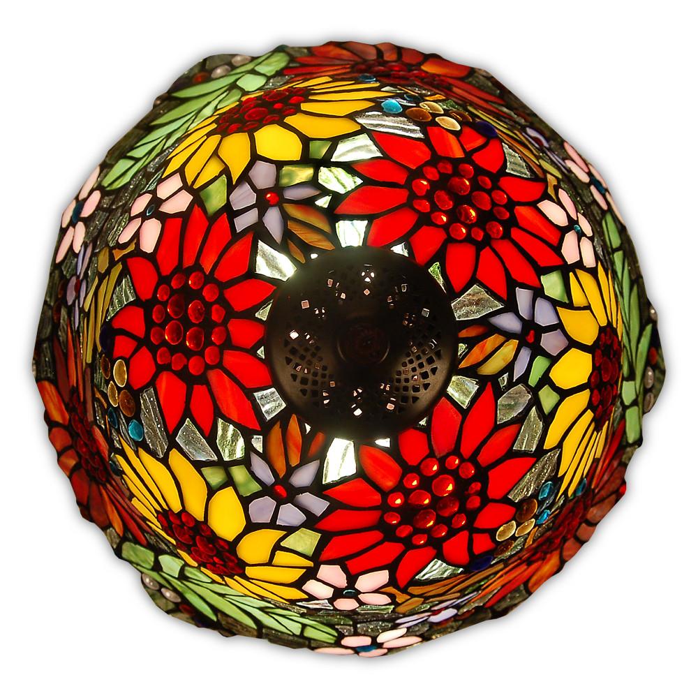 GF16212 - Lampada da tavolo fiori e farfalle