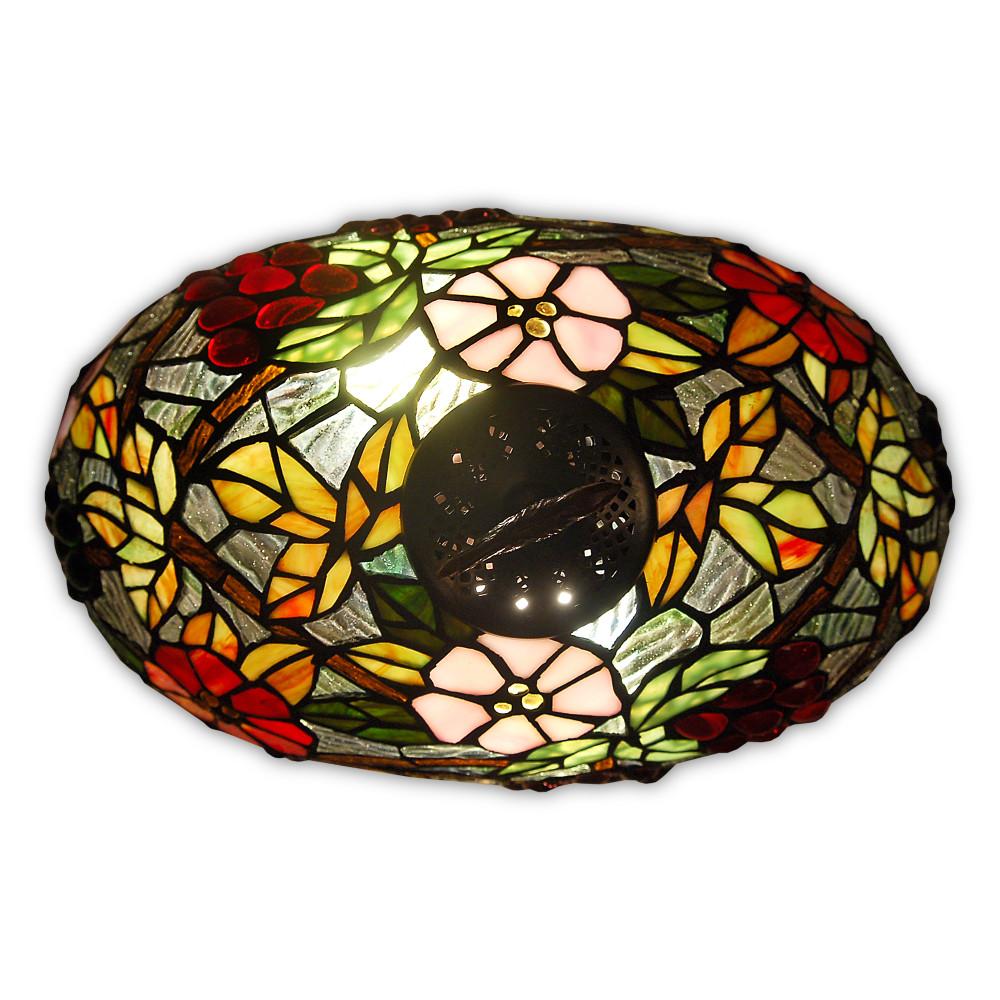 GF17222 - Lampada da tavolo floreale