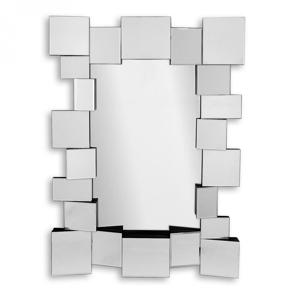 HM003A11080 - Specchio composizione di quadrati