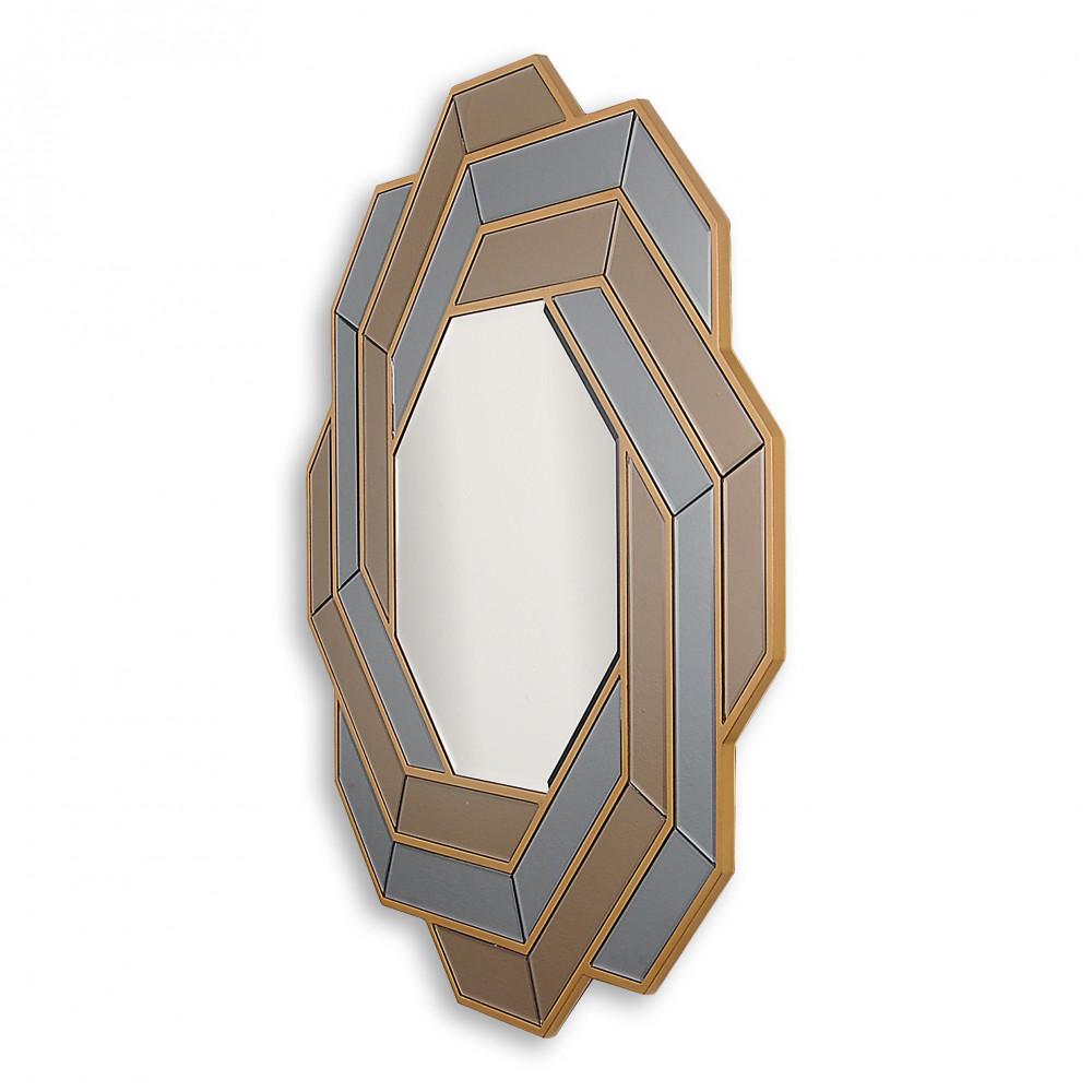 HM008A9090 - Specchio intreccio colori pastello