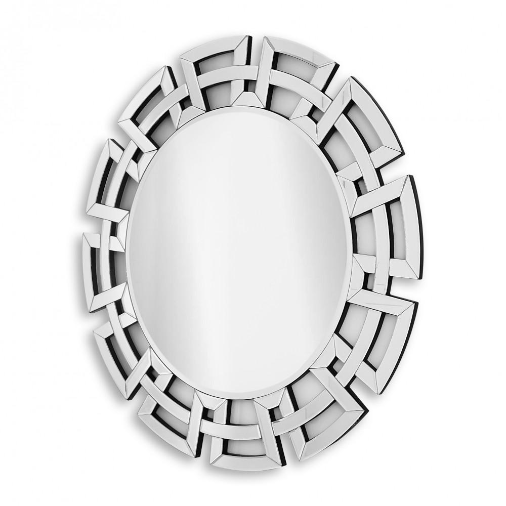 HM015A8080 - Specchio da parete greche rotondo