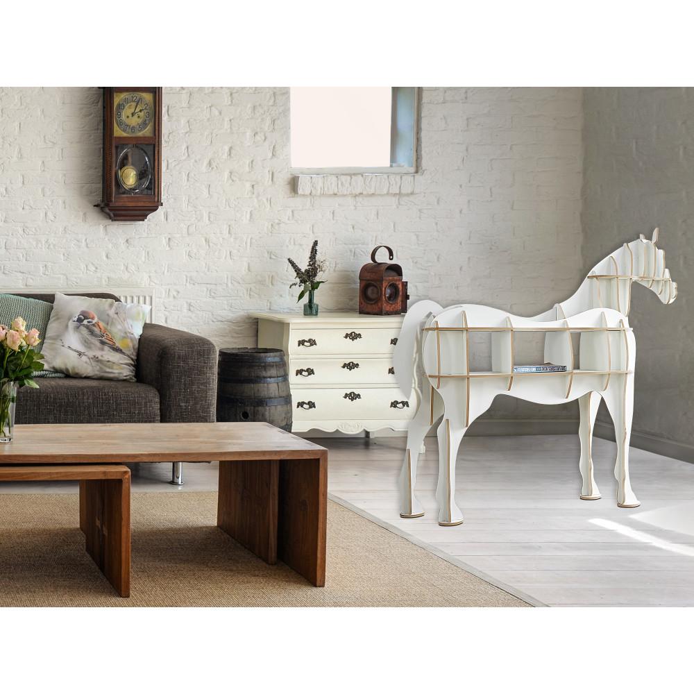 NE011FW - Mobile Cavallo bianco