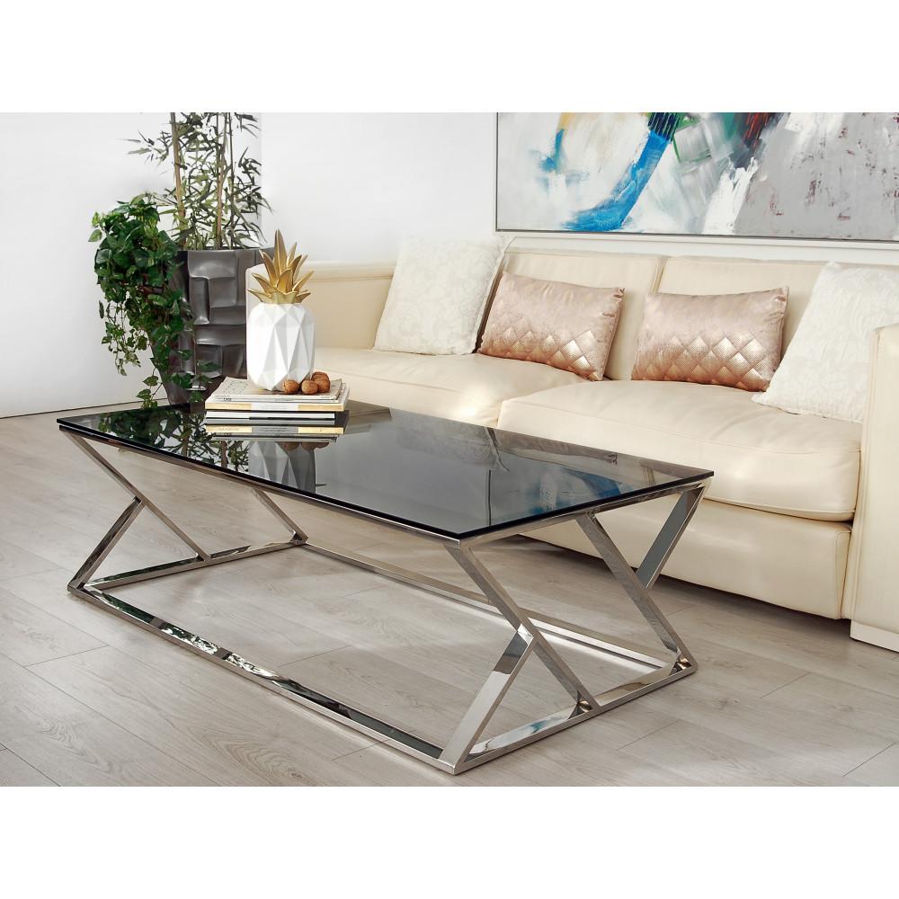 SCT004A - Tavolino basso da salotto Doubleks serie luxury