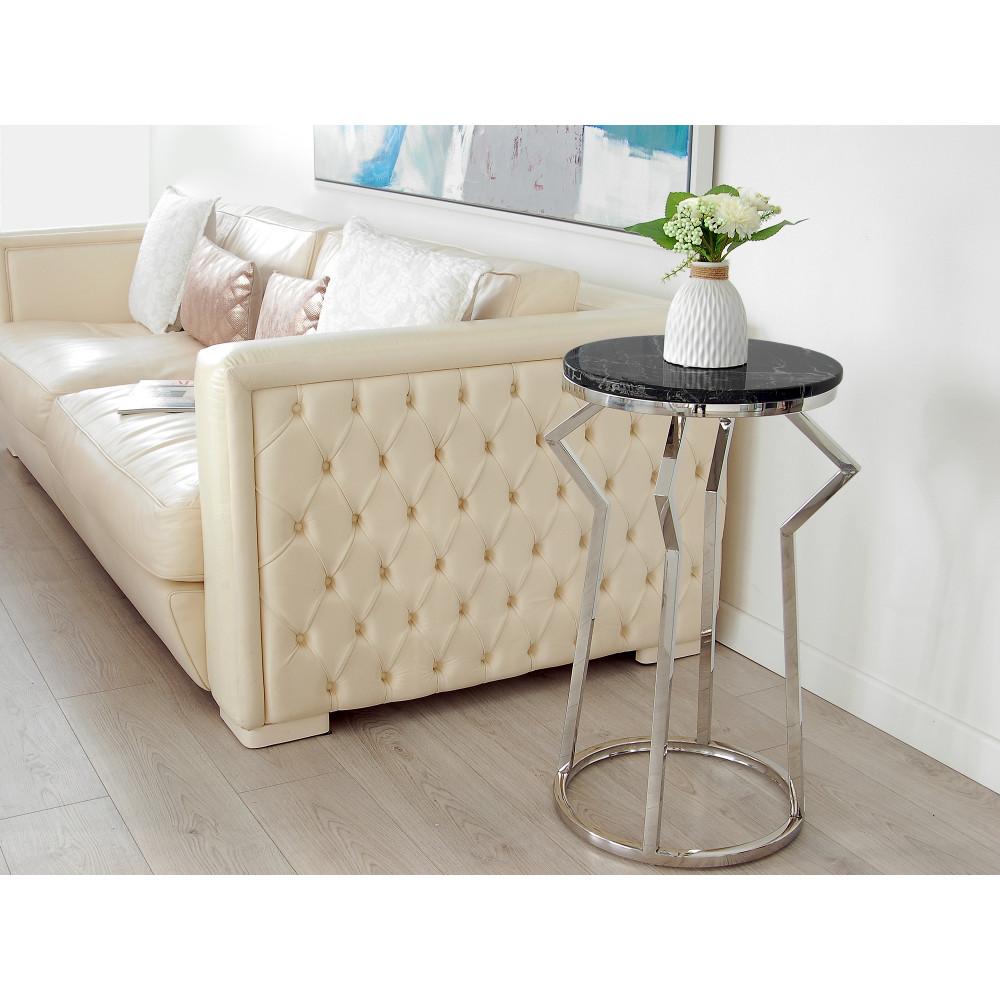SST007A - Tavolino da lato divano Corkcage serie luxury