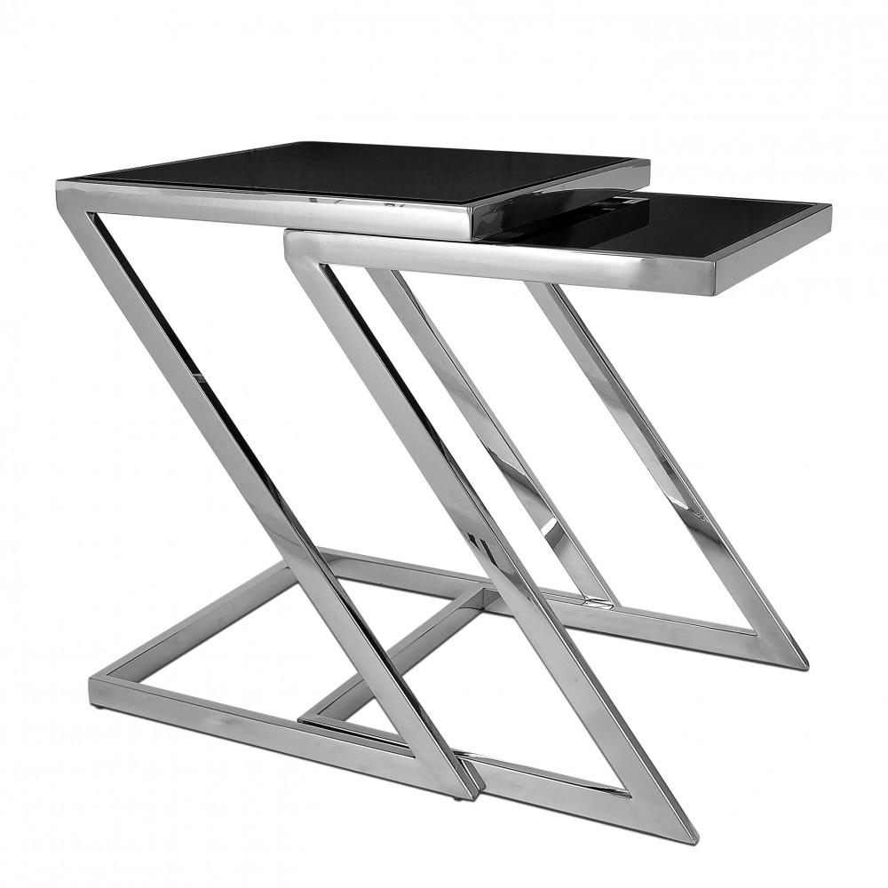 SST008AS - Tavolino da lato divano Zed serie luxury