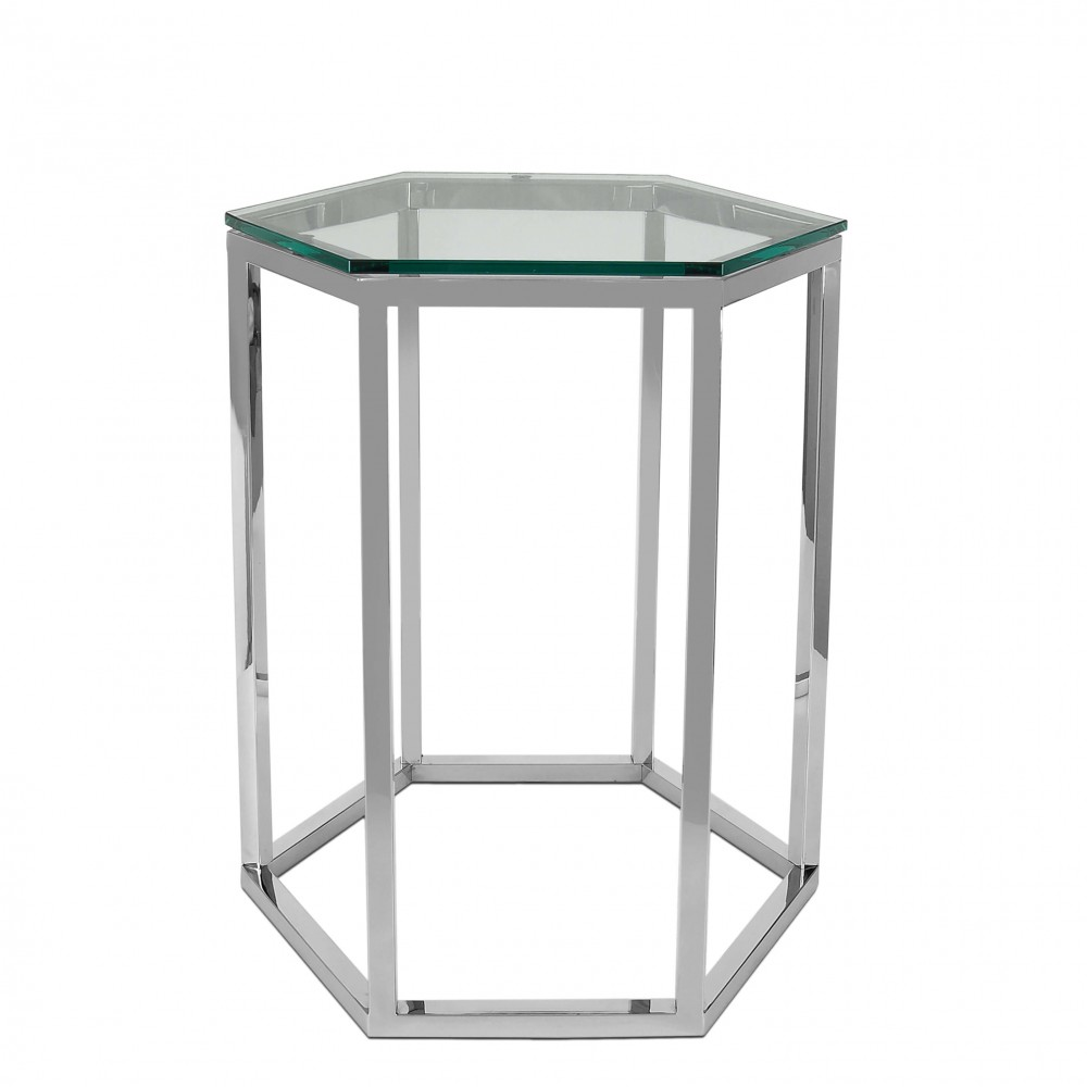 SST011A - Tavolino da lato divano Honeycomb serie luxury