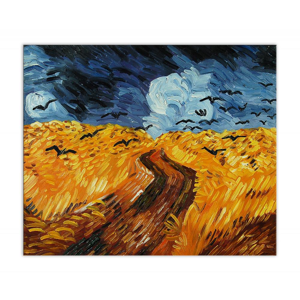 VG019EAT-01 - Campo di grano con corvi