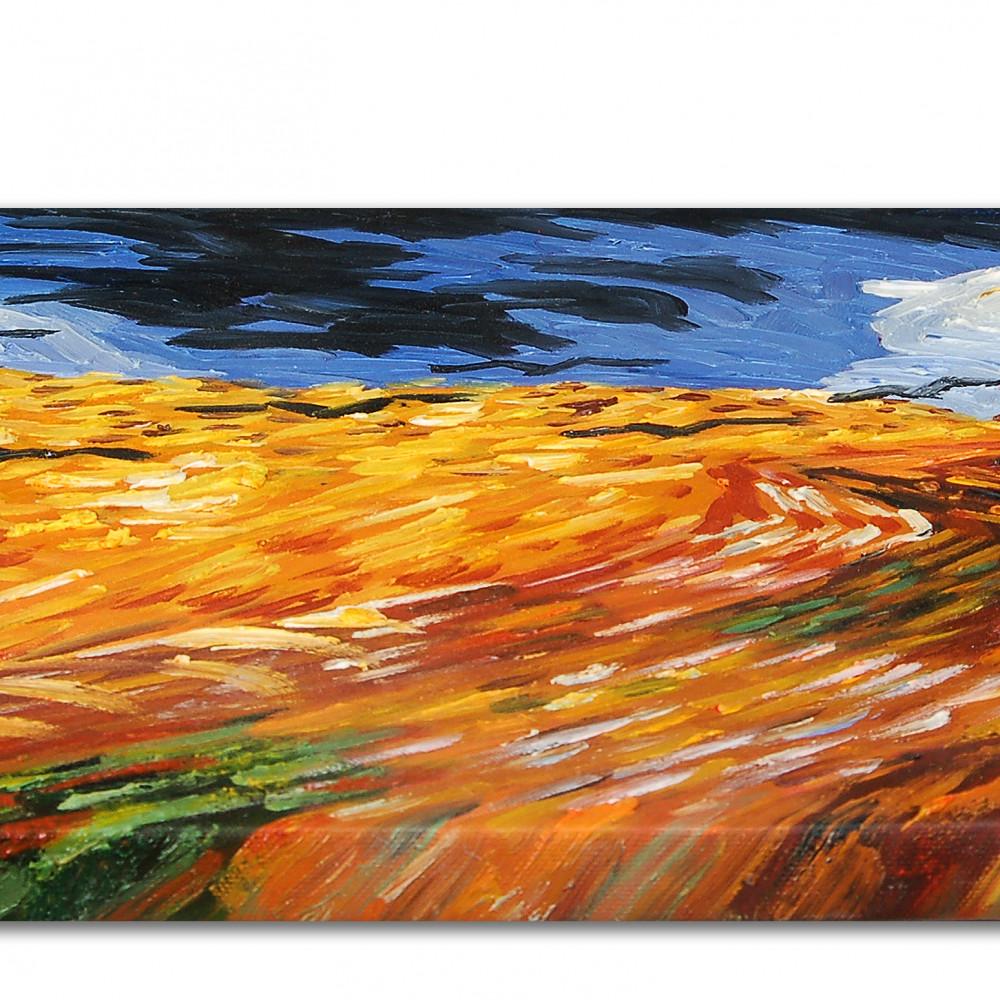 VG019EAT-02 - Campo di grano con corvi