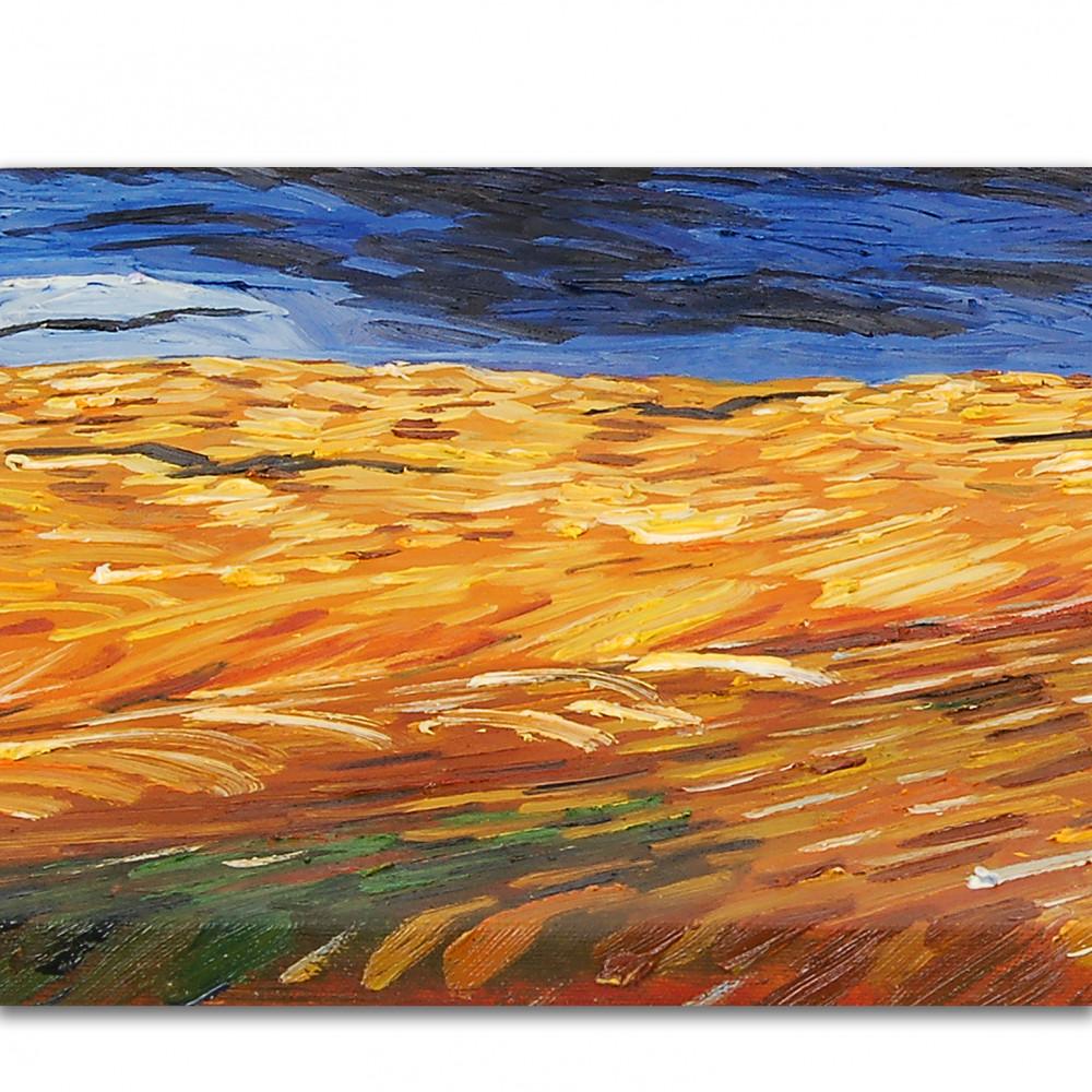 VG019IAT-01 - Campo di grano con corvi