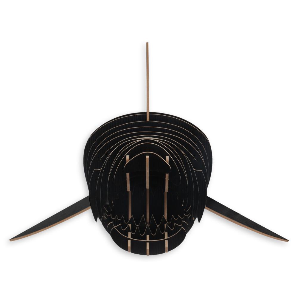 WD024MB - Puzzle in legno Squalo nero