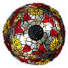 GF16826 - Lampada da tavolo fiori e farfalle