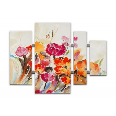 AS432X1 - Fiori Multicolore