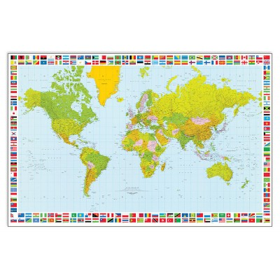 EC22186 - Map Of The World