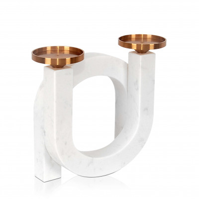 FC009A - Double arch candle holder