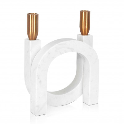 FC010A - Double arch candle holder