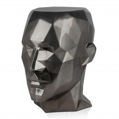 FPE5553EA - Low poly man's head side table