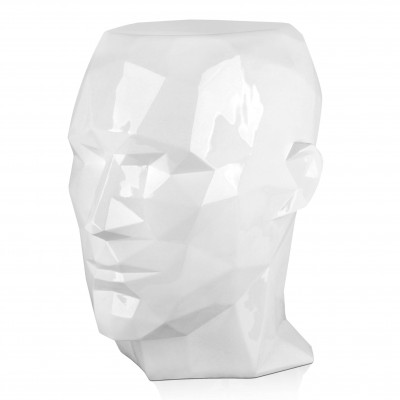 FPE5553PW - Low poly man's head side table