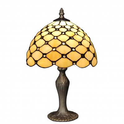 GA10026 - Bedside table lamp with gems