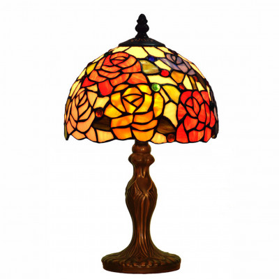 GF08443 - Bedside table lamp with roses