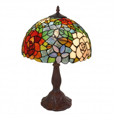 GF12001 - Table lamp with roses
