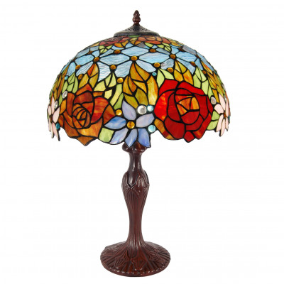 GF16534 - Table lamp floral