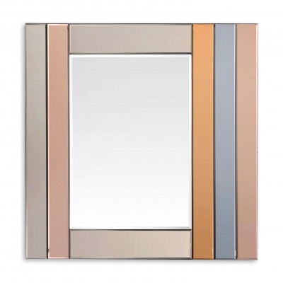 HM027A8080 - Multicolor bands mirror