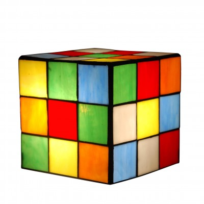 TP05059 - Rubik cube bedside table lamp