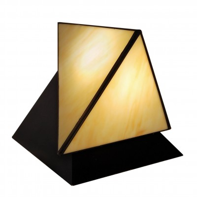 TT03002 - Bedside table lamp double pyramid
