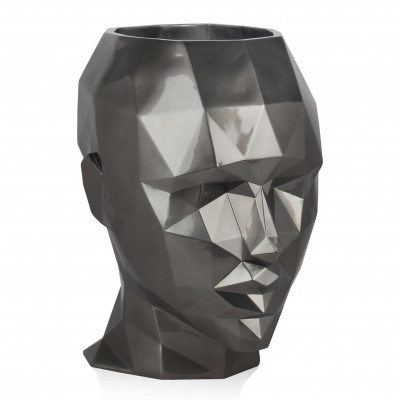 VPE5550EA - Low poly woman's head vase large