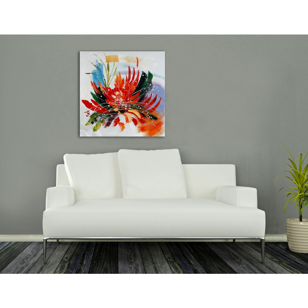 AS312X1 - Abstract flower