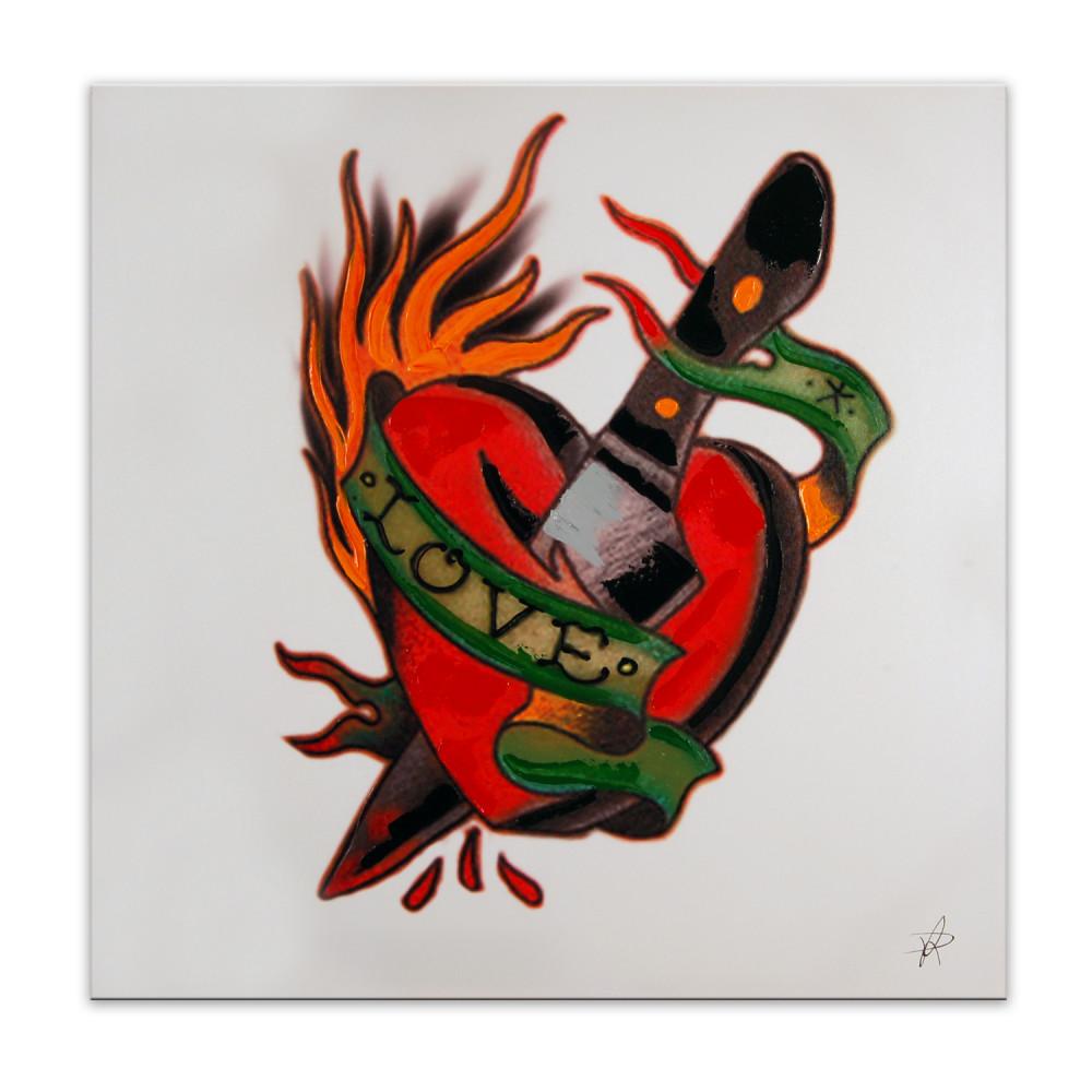AS317X1 - Love Tattoo