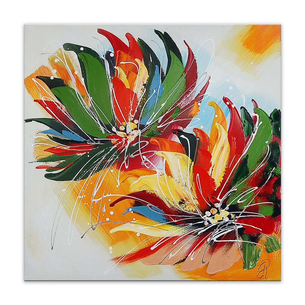 AS386X1 - Multicolour flowers