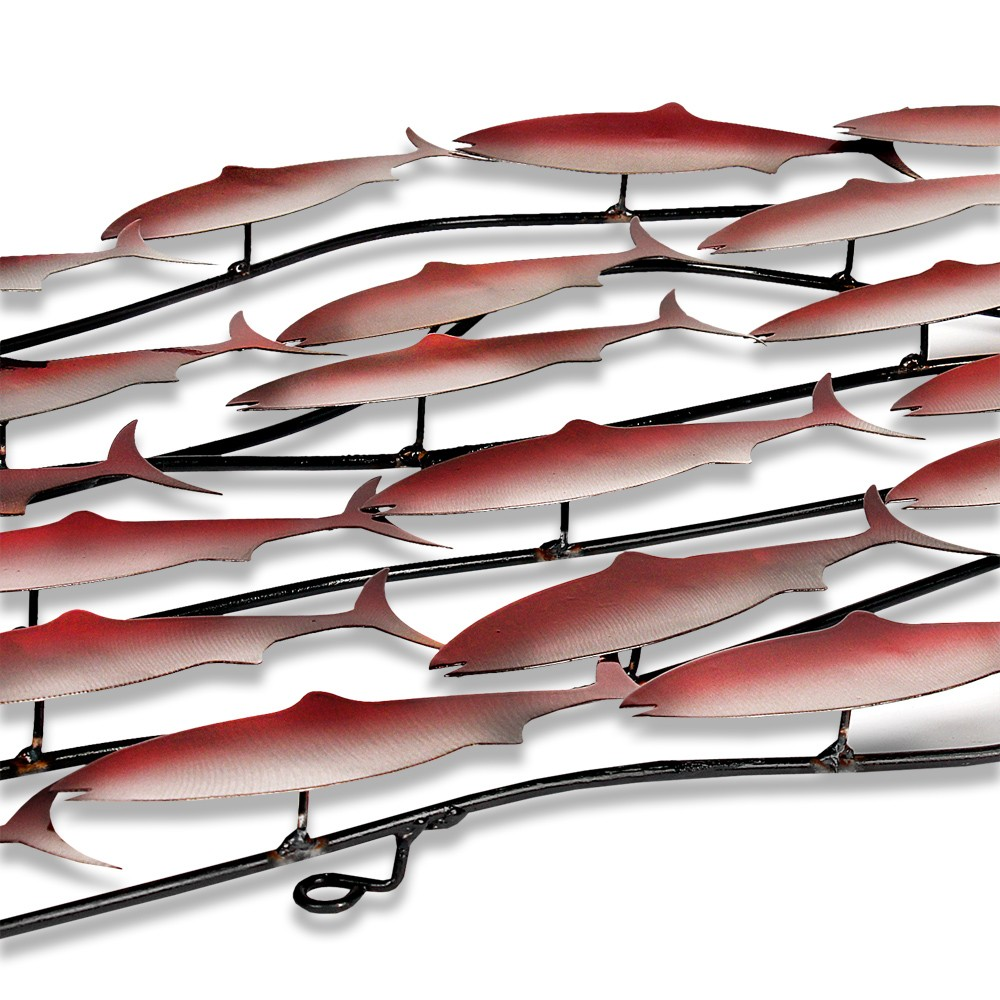 BP5004B - School of red fish