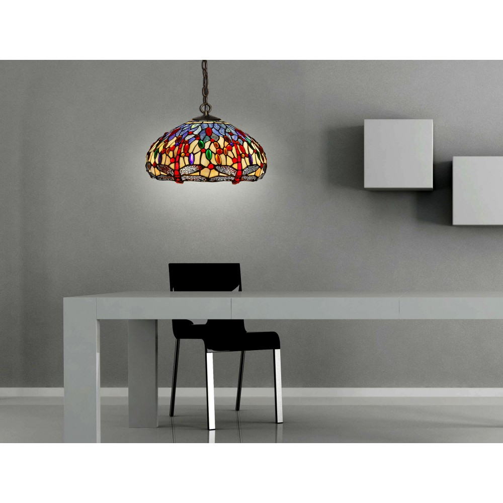 CD16244 - Chandelier dragonfly