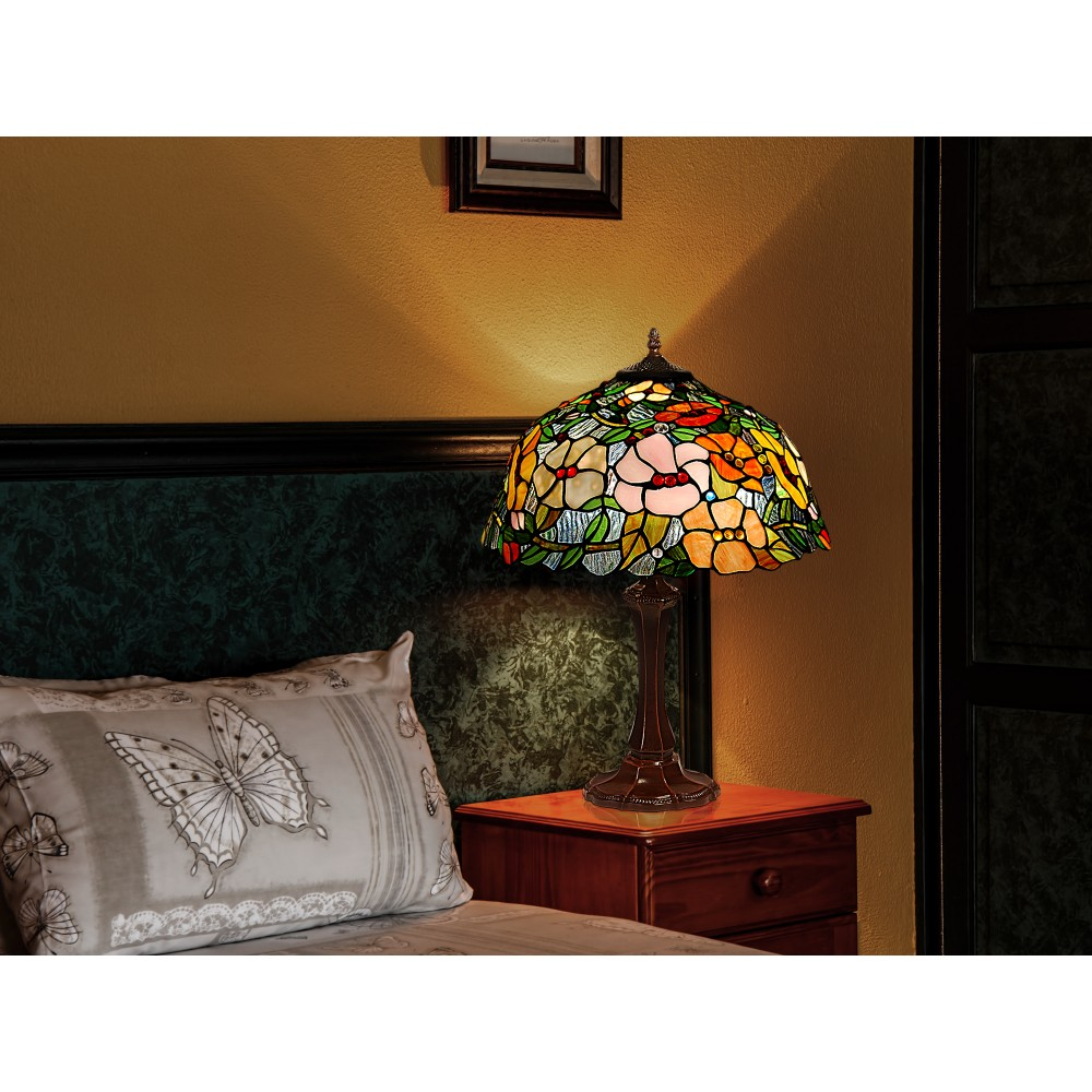 GF16715 - Table lamp floral