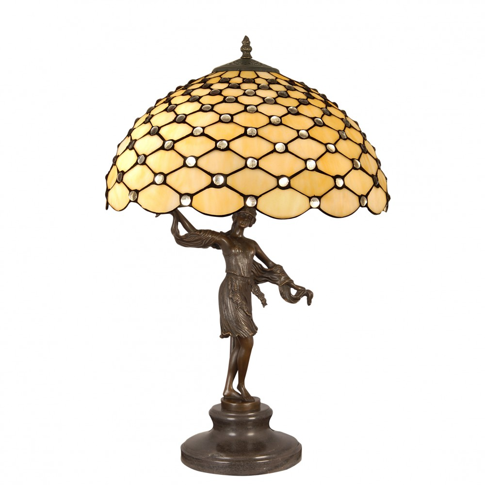GM16599 - Lamp sculpture with gems