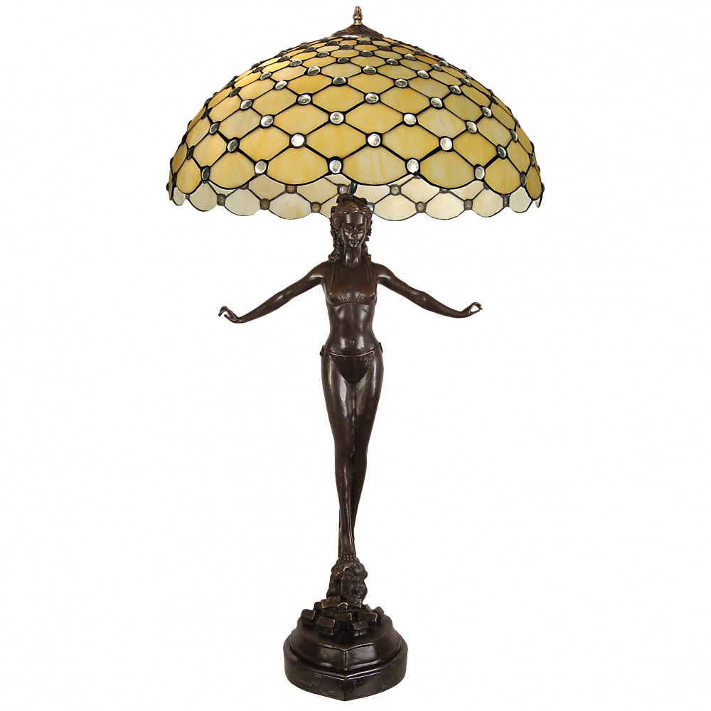 GM21038 - Lamp sculpture with gems