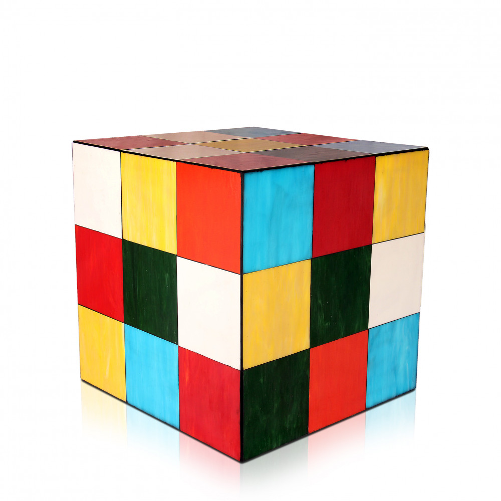 KT108MYB - Coffee table Rubik cube