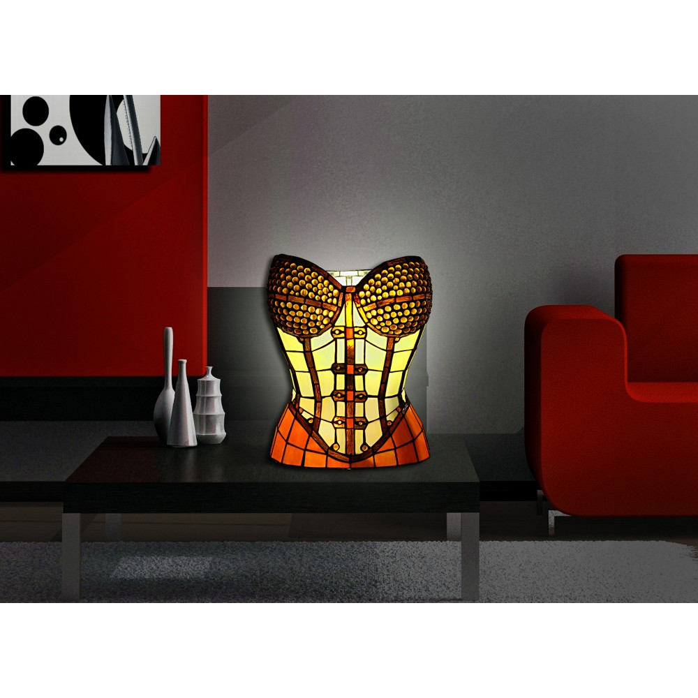 TS16139 - Sculpture table lamp bust