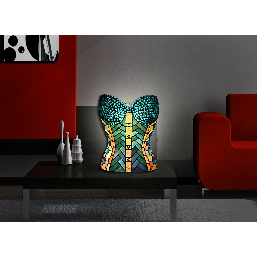 TS16206 - Sculpture table lamp bust