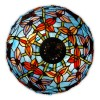 GB16728 - Table lamp with flowers and butterflies