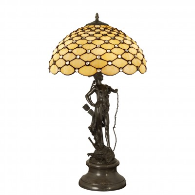 GM16782 - Lamp sculpture with gems