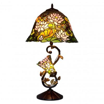 GF16313 - Florale Tischlampe