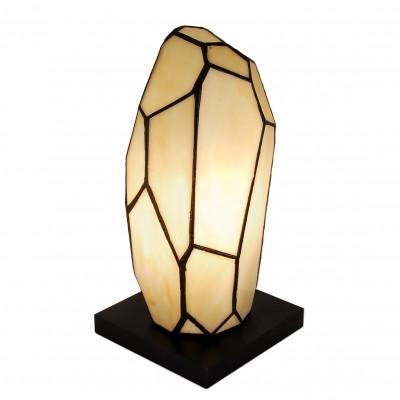 TC03004 - Nachttischlampe Quarzkristall