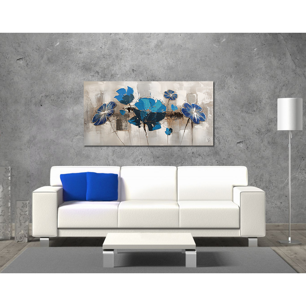AS252X1 - Blaue Mohnblumen