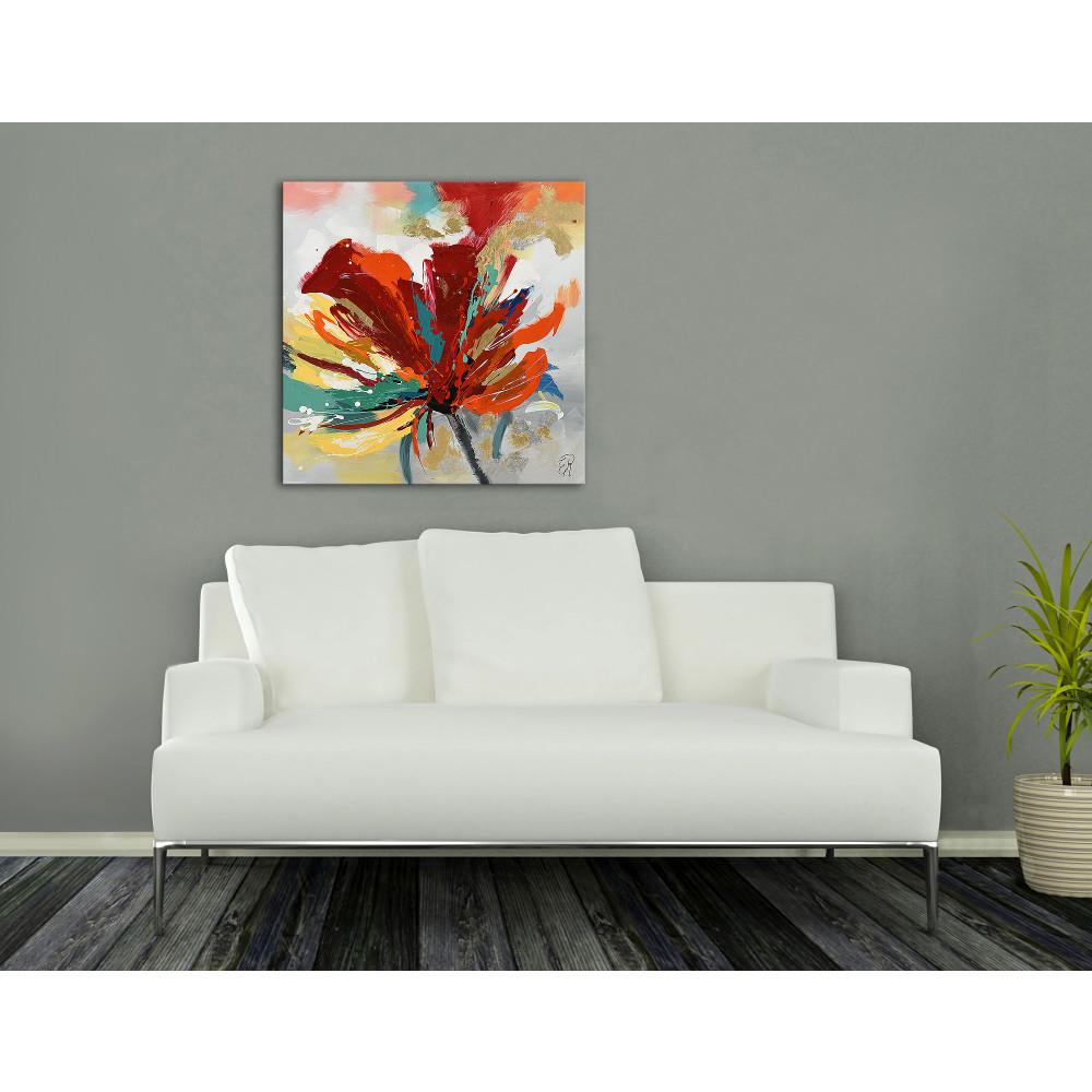 AS436X1 - Mehrfarbige Blume